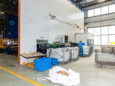 Refrigerator Recycling Plant